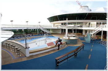 Serenade of the Seas - The Pool